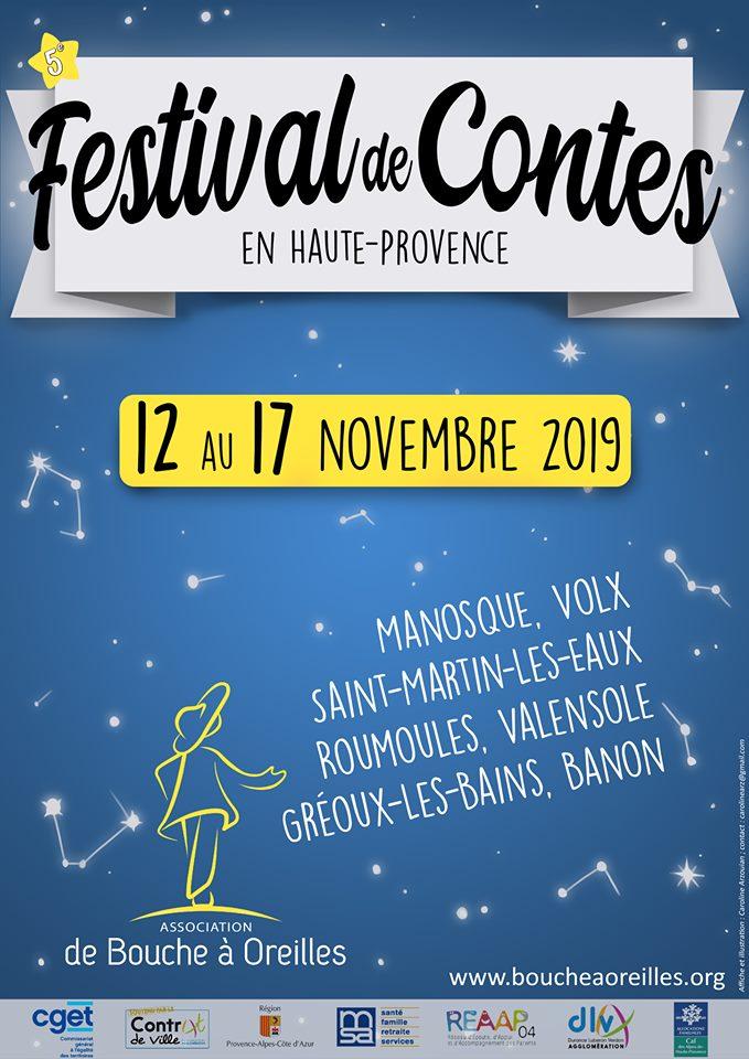 Festival de Contes Haute Provence 2019