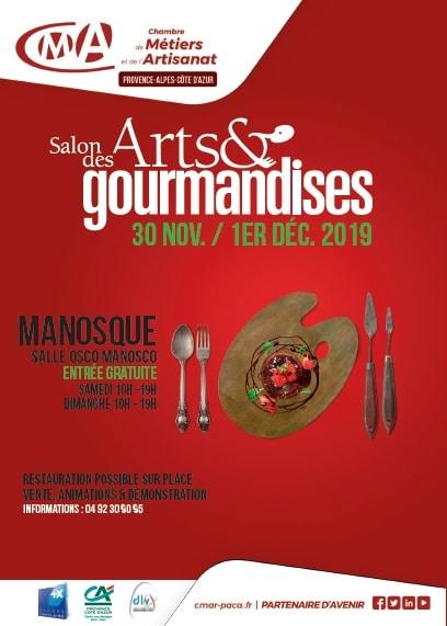 Salon Arts Gourmandises Manosque 2019