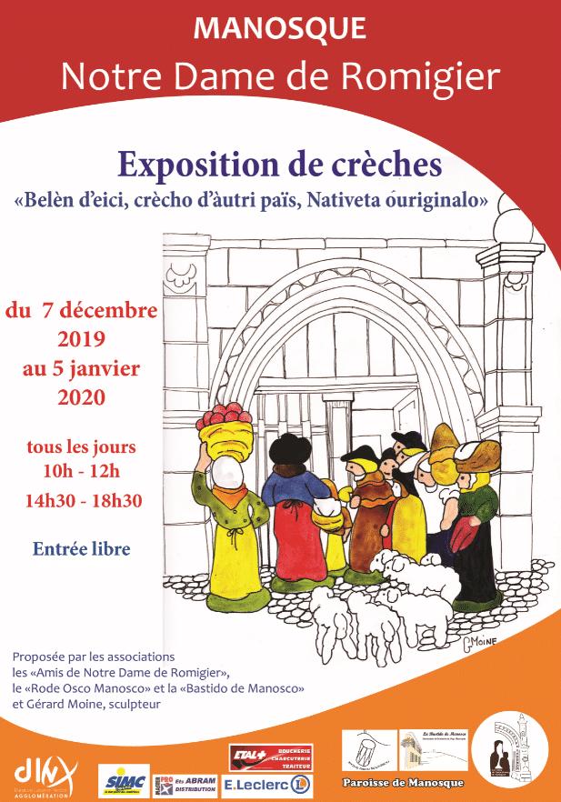 Expo Crèches Notre Dame de Romigier