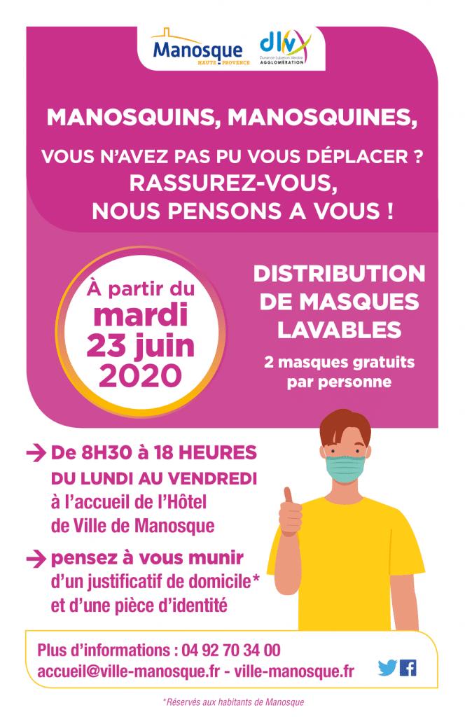 Distribution Masques Manosque